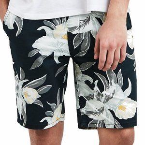 Levi's men's floral flower pocketed chino shorts